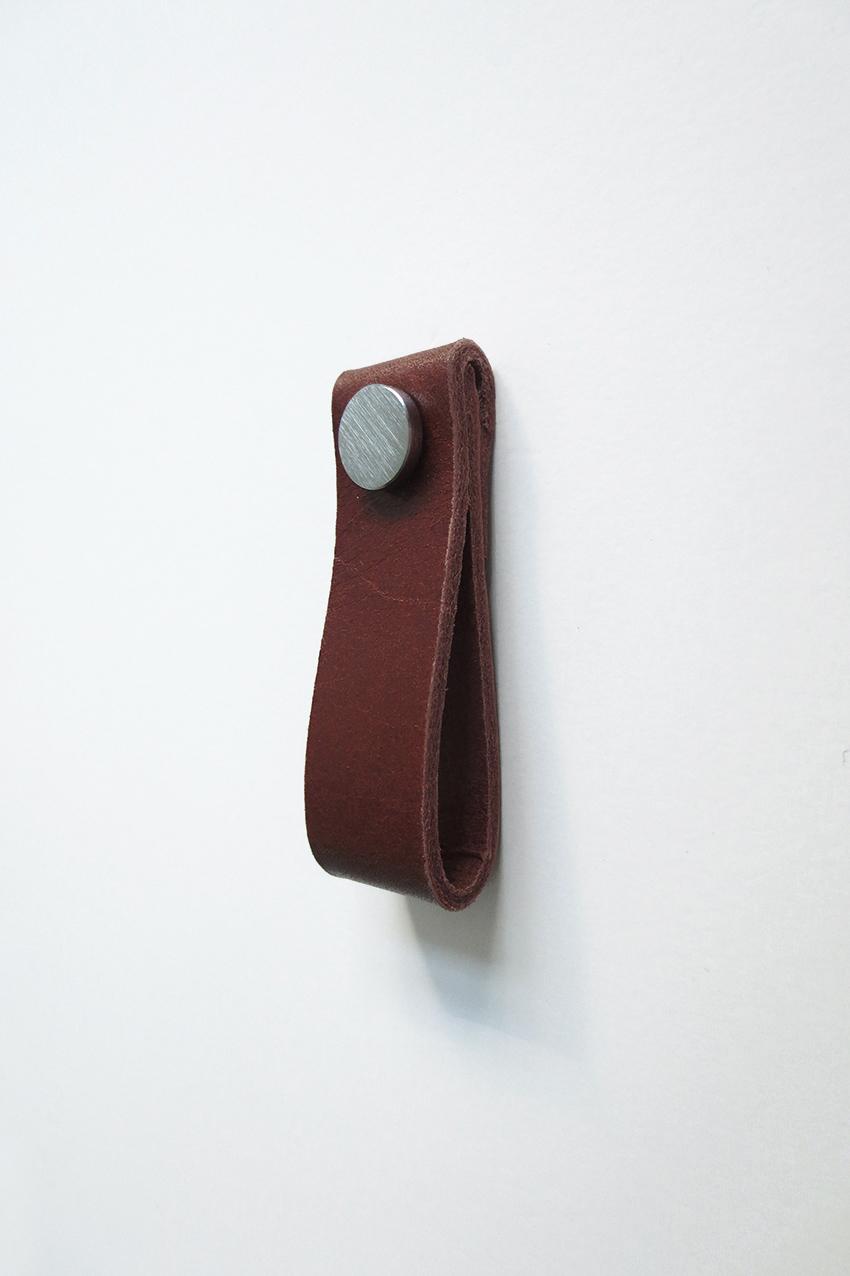 Leather handle cognac